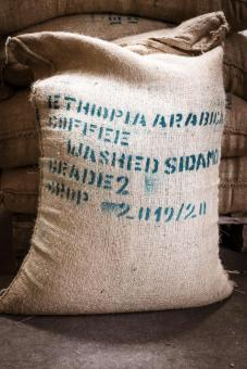 Äthiopischer Arabica Sidamo Rohkaffee 60kg Großhandel