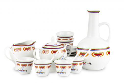 Kaffeeservice traditionell eritreisches Design