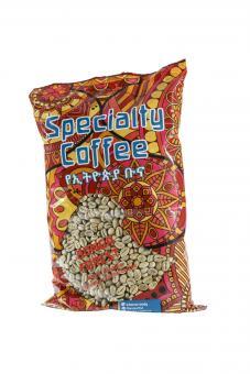 Äthiopischer Rohkaffee Bonga Forest Wildkaffee