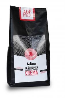 Äthiopischer Solino Fair Kaffee Crema