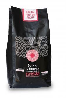 Äthiopischer Solino Fair Kaffee Espresso