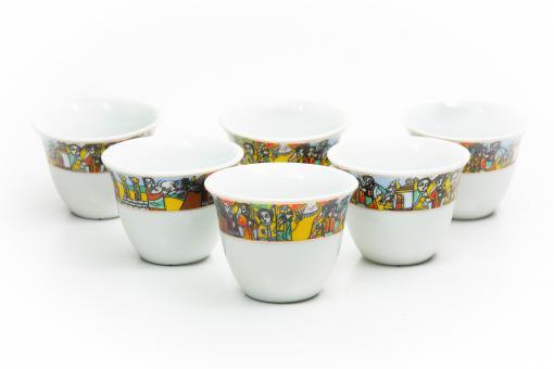 Kaffeetassen 12 Stk Queen Saba / King Salomon