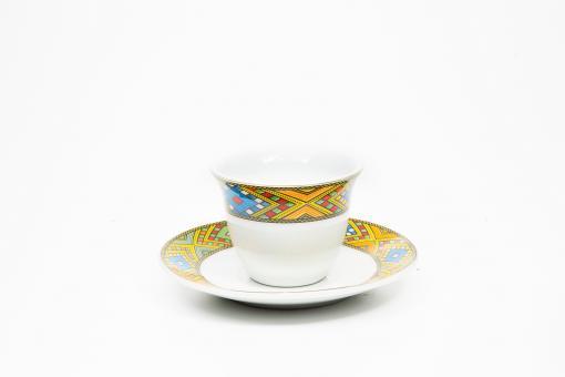 Kaffeetassen & Untertasse 6 Stk - Tibib